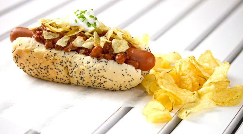 Loaded Potato Skin Dog