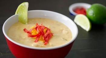 Southwest Cream of Chicken Soup
