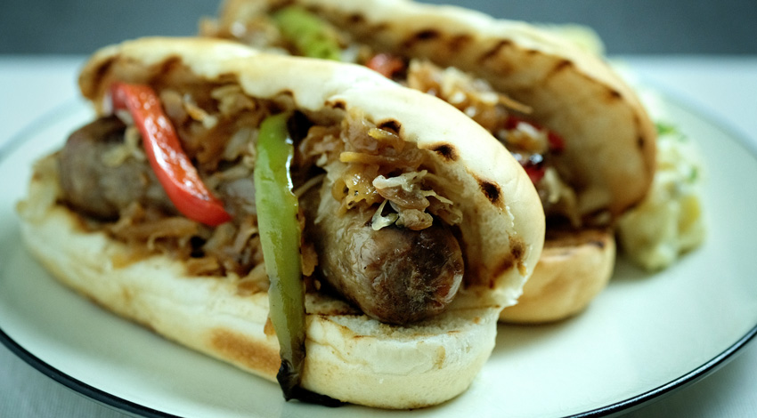 Sweet Onion Brats