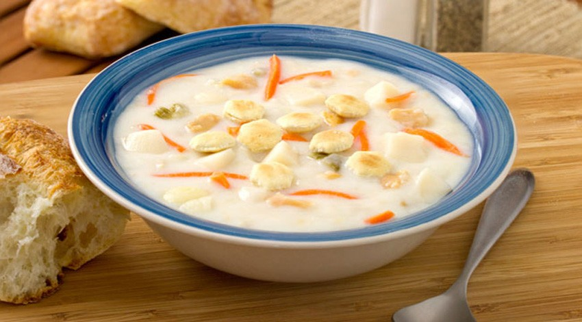 New England Style Clam Chowder