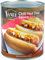 CHILI HOT DOG SAUCE WITH MEAT