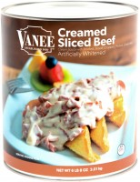 CREAMED SLICED BEEF