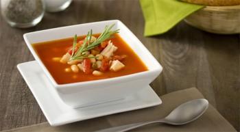 Tuscan Bean & Chicken Soup