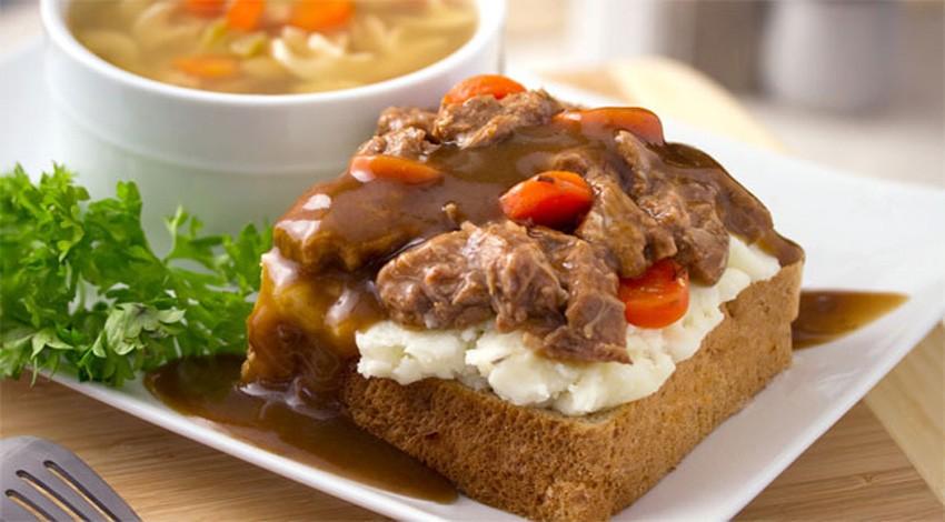 Meat 'n Potatoes Sandwich