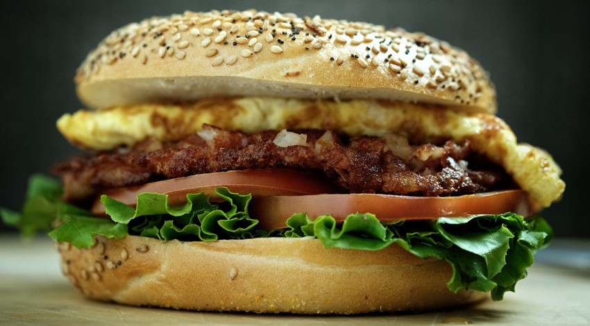 Hearty Breakfast Sandwich